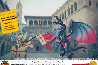 Los playmobil llegan por Navidad a Alcañiz
